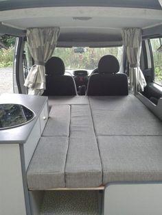 Fiat Doblo camper van conversion based in wrexham North Wales Suv Camper, Mini Camper, Bongo Camper, Mazda Bongo, Minivan Camping, Kombi Home, Moving Home, Small Campers, Diy Rv
