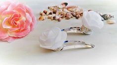Flower Girl Hair Clip Set Wedding Bride To Be Hair