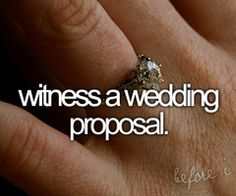 Watching proposal videos makes me cry...I don't even wanna know what would happen if I saw one in person hahaha