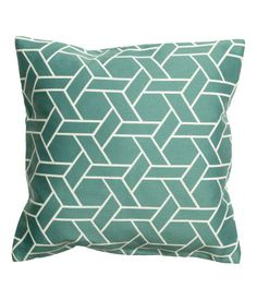$19.99 - H&M - Jacquard-weave cushion cover with a concealed zip. - Also in Wht&Blk