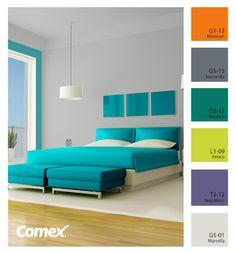 Comex/ Una habitación así para tu casa. ¿Quién dice yo? #decoracion