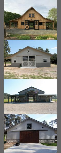 What does your look like? Request a FREE catalog! What does your look like? Request a FREE catalog! Small Barn Plans, Small Barn Home, Small Horse Barns, Barn Layout, Horse Barn Designs, Cattle Barn, Horse Barn Plans, Barn Shop, D House