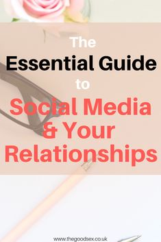 Learn all about how social media affects romantic relationships and how we can build positive relationships that fulfil us. Discover key advice around relationships, social media and self esteem! | Best sex toys for women | How to have sex for the first time | Sex education for women | Best sex and relationships podcast | How to have better sex | Sex advice for women | Women and sex | Sex and relationships blog | Relationship tips Troubled Relationship, Marriage Relationship, Relationships Love, Marriage Advice, Dating Advice, Healthy Relationships, Successful Relationships, First Date Tips, Dating Tips For Women