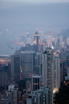 Hong Kong Cityscape   China