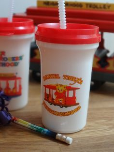 Daniel Tiger's Neighborhood cups, great favors