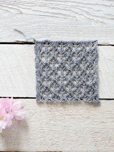 easy+lace+knit+pattern