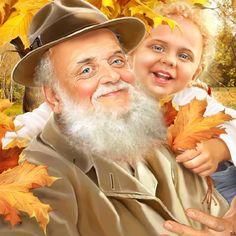 """Ни один ковбой не достанет свой кольт быстрее, чем дедушка — фотографию внука.  Из книги """"Путеводитель по жизни"""""""