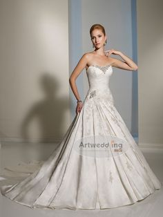 graceful wedding dress $175