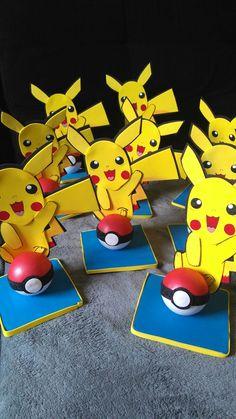 Centro de mesa Pokémon.