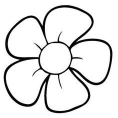 kleurplaat bloem dingen die ik leuk vind bloem