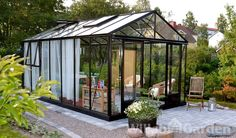 What Is a Conservatory? What Is A Conservatory, Conservatory Garden, Pergola With Roof, Gazebo, Tiny Cabins, Garden Trees, Glass House, Sustainable Design, Gardens