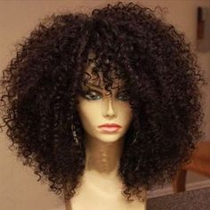 Brazilian Unprocessed Virgin Hair Full Lace Wig Kinky Curly Front Lace Wig Human Hair 100 Human Hair Wigs For African American-in Human Wigs from Hair Extensions & Wigs on Aliexpress.com | Alibaba Group