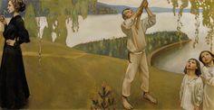 Akseli Gallen-Kallela(Finnish, 1865-1931)  Spring (Frühling), N/D