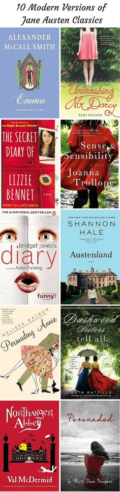 Excellent Jane Austen retellings