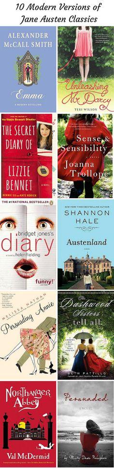 Excellent Jane Austen retellings