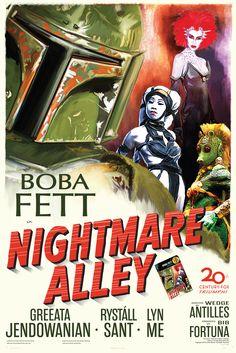 Fett Noir Series 1: Nightmare Alley. , via Etsy.