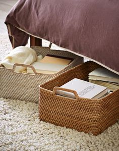 the perfect baskets for storage under the bed http://rstyle.me/n/vu3d2pdpe