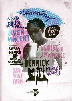 TrouwAmsterdam Line up posters 2010 | 178 aardige ontwerpers
