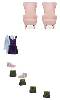 """""""Untitled #1429"""" by kohlanndesigns ❤ liked on Polyvore featuring New Balance, Crate and Barrel, Tom Dixon and Funlayo Deri"""