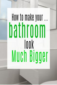 Top tips to help you make your bathroom look much bigger and really maximise your space with the use of design, decor and accessories #abeautifulspace #bathroom #bathroomdesign #space Dining Wall Decor, Home Decor Pictures, Home Hacks, Beautiful Bathrooms, Minimalist Home, Victorian Homes, Shabby Chic Decor, Cheap Home Decor, Decor Crafts
