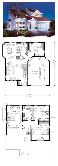 Saltbox house plans on pinterest saltbox houses full for Saltbox style house plans