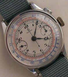 Omega Chronograph Wristwatch Steel Mens Watch - http://menswomenswatches.com/omega-chronograph-wristwatch-steel-mens-watch/