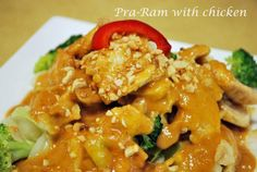 Pra-Ram with Chicken by Chai-Yo in San Francisco, CA