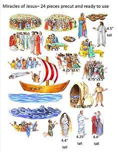 The Miracles of Jesus Felt Figures for Flannel Board Bible Stories-precut Story Time Felts http://smile.amazon.com/dp/B005BLXKHI/ref=cm_sw_r_pi_dp_SQeXvb0G4YPW6