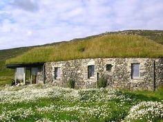 blacksheep house on the Isle of Harris