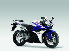 Honda CBR 600RR HRC inspired tricolored motorbike