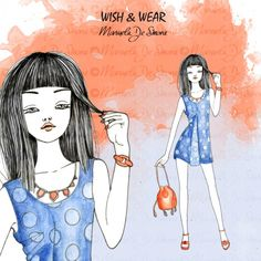 Discover the best outfit illustrated by Manuela De Simone on her blog! http://www.manueladesimone.com/blog/