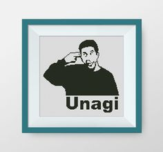 BUY 2 GET 1 FREE Unagi. Friends cross stitch от NataliNeedlework