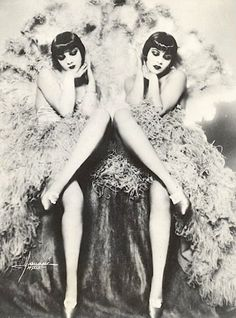 Me & Sister <3 Vaudeville...looks like the Dolly sisters