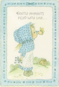 blue Betsy Clark Gentle moments  filled  with love.  Birthday card