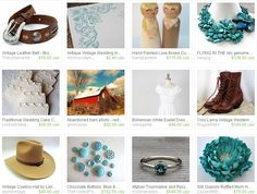 My white western wedding treasury.. just made the FRONT PAGE BABY!!
