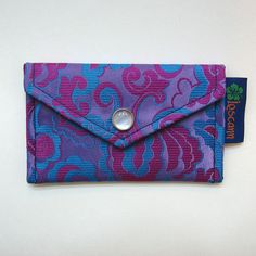 A Wallet made out of an old tie - craft upcycle recycle idea
