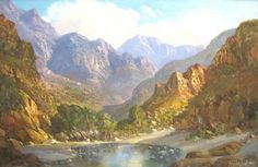 Tinus de Jongh Beautiful Paintings, Beautiful Landscapes, Love Art, All Art, Landscape Art, Landscape Paintings, South African Artists, Various Artists, Artist Art