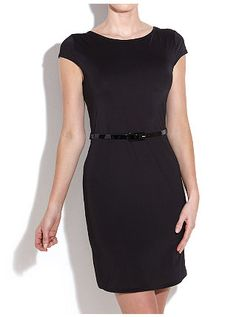 €24,99 Fitted Capped Sleeve Dress