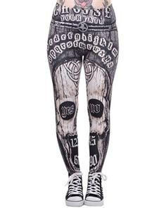 Ouija inspired leggings from Too Fast £21.99.