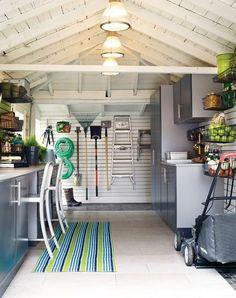 Organized Storage & Craft Room