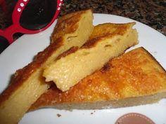 Tarte-pudim de laranja✮  Ingredientes: -8 ovos -400g de açúcar -2 c.de sopa de margarina -3 c.sopa de farinha -2 a 3 laranjas sumo e raspas -1 folha de papel vegetal  Preparação: junta-se os ovos inteiros,o açúcar,a manteiga a farinha e a laranja. bate-se tudo muito bem depois deita-se numa forma untada com margarina e a folha de papel vegetal também. unta-se com margarina e leva-se ao forno uns 30 minutos.