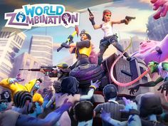 World Zombination App by Proletariat Inc. Zombie Tower Defense Apps.