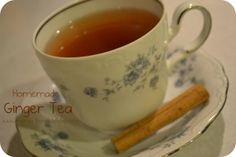 Homemade Ginger Tea