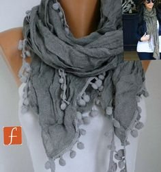 Hey, I found this really awesome Etsy listing at http://www.etsy.com/listing/92717218/on-sale-gray-scarf-shawl-infinity-scarf