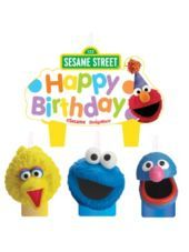 Sesame Street Birthday Candles-Party City
