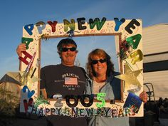 New Year Party Frame