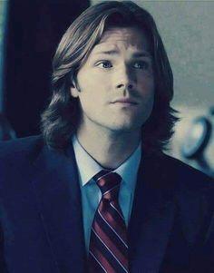 I love his hair this length
