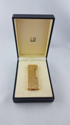 Dunhill Solid gold lighter Call Danilo 0039 393 9402049