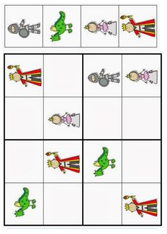 sudoku Dragons, Grand Prince, Château Fort, Galette, Cool Kids, Montessori, Fairy Tales, Learning, School