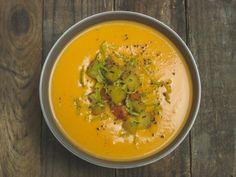 Süßkartoffel-Kokos-Suppe mit Limetten | The Vegetarian Diaries